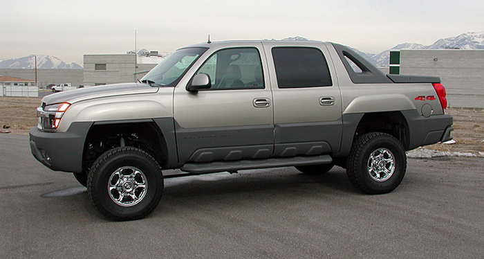 chevy avalanche lift kit 6 2001 2003 tuff country 16965. Black Bedroom Furniture Sets. Home Design Ideas