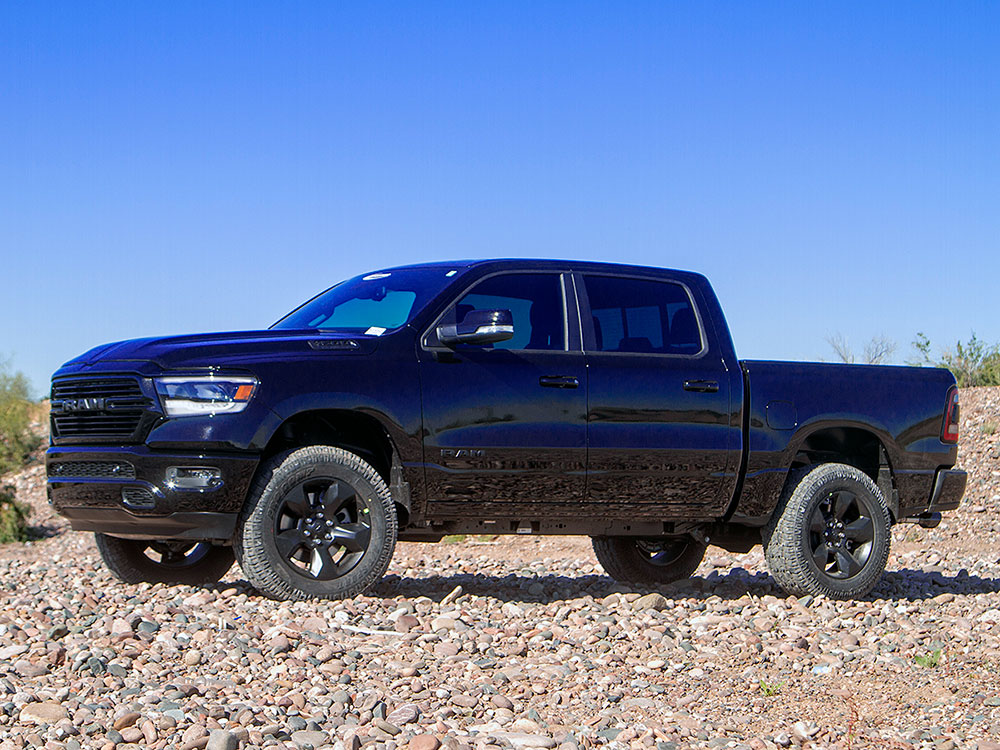4 Inch Lift Kit For Dodge Ram 1500 4wd >> 2017 2019 Dodge Ram 1500 4wd Ds Or Dt Body 2 Lift Kit Daystar Kc09139bk
