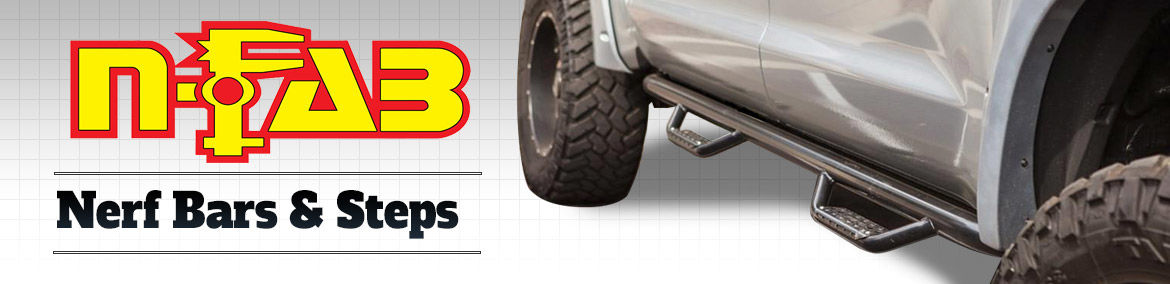 N-Fab Nerf Bars and Steps for Trucks & SUVs