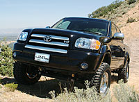 2014 Toyota Tundra with 4 inch Lift Kit