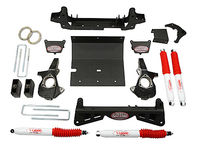"2001-2006 GMC Sierra 1500HD 4x4 - 4"" Suspension Lift Kit (w/multi-piece sub frame)"