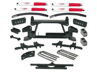 "1988-1997 GMC Truck 2500/3500 4x4 (8 Lug) With Cast Lower Control Arms - 6"" Suspension Lift Kit"