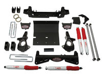"2001-2010 Chevy Silverado 2500HD 4x4 - 6"" Suspension Lift Kit (w/multi-piece sub frame)"