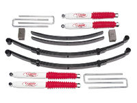 "1969-1993 Dodge Ramcharger 1/2 ton & 3/4 ton 4x4 - 4"" EZ-Ride Suspension Lift Kit (includes steering block)"