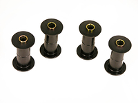 1972-1993 Dodge Truck 4wd 1/2, 3/4 and 1 ton - FRONT Spring Eye Bushing Kit (with 1 inch ID spring eye)
