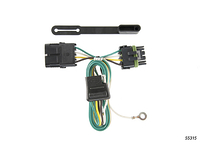 1988-2000 Chevy Truck 2500 / 3500 - Trailer Wiring Kit (4-Flat connector)