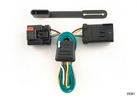 2000-2010 Jeep Grand Cherokee - Curt MFG Trailer Wiring Kit (Adds 4-Flat to OE 7-Way)