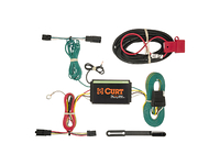 2013-2017 Ford Fusion (Excluding Titanium) - Curt MFG Trailer Wiring Kit (4-Flat T-Connector) (Excluding LTZ)