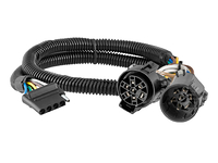 1999-2014 GMC Sierra 1500 - Trailer Wiring Kit (Adds 5-flat to OE 7-way)