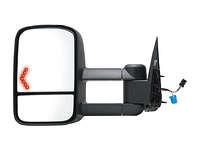 2003-2006 GMC Sierra 1500 & Classic 2007 - Extendable Towing Mirror / Passenger side (Power Heated, w/Turn Signal, Dual mirror, Foldaway)