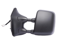 2008-2011 Nissan Titan (Pro X4 Model) - Extendable Towing Mirror / Driver side (Power Heated, Dual Mirror, Black, Foldaway )