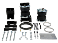 "2008-2010 Ford F450 Pickup Truck 2wd & 4x4 (Front kit fits 4wd model only) - ""Load Lifter 5000 Ultimate"" Air Helper Spring Kit (Rear)"