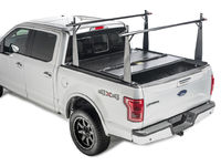 1999-2014 Chevy Silverado 3500 / 3500HD with 8' Bed - BAKFlip CS w/integrated rack (hard folding style)