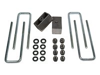"1994-1998 Chevy Tahoe 4wd - 2"" Rear Block Kit (ubolts & lift blocks)"