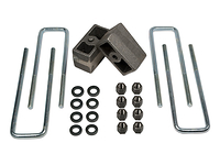 "1986-1989 Toyota 4Runner 4wd (w/ 2.5"" rear axle) - 3"" Rear Block Kit (ubolts & lift blocks)"