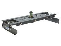 2001-2007 GMC Sierra 3500 / 3500HD (With 2 bed crossmembers over the axle) - Turnoverball Gooseneck Hitch by B & W