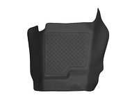 2007-2014 Chevy Silverado 2500HD (Without Full Coverage Center Console) - Husky Liners Center Hump X-act Contour Floor Mats - Black