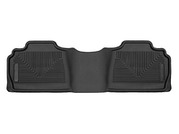 2007-2014 Chevy Silverado 2500HD Extended Cab, Crew Cab  - Husky Liners Rear X-act Contour Floor Mats - Black