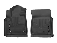 2012-2018 Toyota Tundra - Husky Liners Front X-act Contour Floor Mats - Black