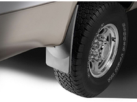 "1999-2006 GMC Sierra 3500 / 3500HD (w/o factory fender flares) - REAR ""NO-Drill"" Mud Flaps (pair)"