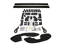 "2003-2005 Chevy Silverado 2500HD 2WD/4WD Diesel Motor - 5"" Premium Lift System (Body Lift Kit / Leveling Kit Combo)"