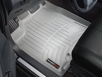 2007-2009 Saturn Aura (Green Line; XE; XR; Hybrid models) - FRONT Floor Liners / pair (Fits Models with 1 Retention Device On Drivers Side)