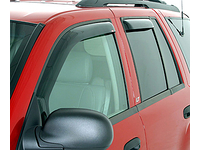 "2005-2011 Dodge Dakota (Quad Cab) - ""IN-CHANNEL"" Side Window Wind Deflectors (4-piece kit)"