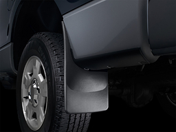 "2010-2018 Dodge Ram 3500 (with factory fender flares) - FRONT ""NO-Drill"" Mud Flaps (pair)"