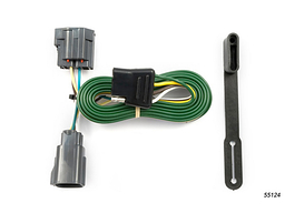 Jeep Wrangler Trailer Wiring Kit 2007-2013 by Curt MFG #55124
