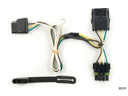 GMC Yukon Trailer Wiring Kit 1992-2000 by Curt MFG #55319