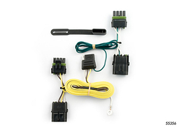 Jeep Wrangler Trailer Wiring Kit 1991-1995 by Curt MFG #55356