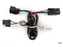 Ford F150 Trailer Wiring Kit 2004-2004 by Curt MFG #55551