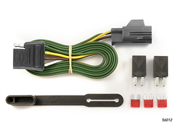 Pontiac Torrent Trailer Wiring Kit 2007-2009 by Curt MFG #56012
