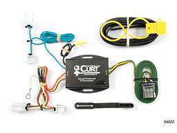 Nissan Sentra Trailer Wiring Kit 2007-2012 by Curt MFG #56022