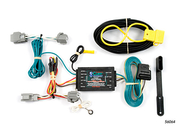 Ford Fiesta Hatchback, Excluding ST Trailer Wiring Kit 2009-2010 by Curt MFG #56064