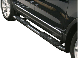 Toyota Tacoma Oval Nerf Bars (Black) 2005-2015 by Aries #222009