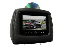 Hyundai Santa FE Video Headrests 2010-2012 by Carshow - Black