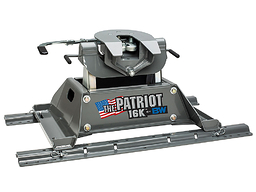 Patriot 5th Wheel Hitch for Pickup Trucks by B & W (in bed rail mounting style)