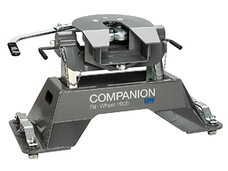 Companion OEM 20K 5th Wheel Hitch (Ford trucks with hitch prep package/puck system from the factory only) - B&W RVK3300