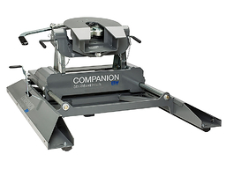 Companion SLIDER 5th Wheel Hitch (ideal for Short Bed trucks, mounts to B&W Turnoverball hitches) - B&W RVK3405