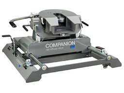 Companion SLIDER 5th Wheel Hitch (Chevy/GMC trucks with hitch prep package / puck system from factory only) - B&W RVK3770