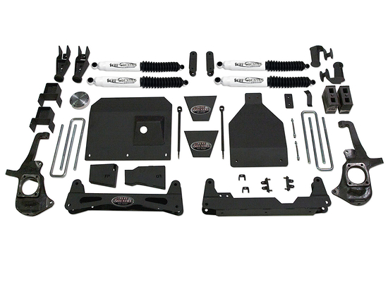 "2011-2019 Chevy Silverado 3500 / 3500HD 4x4 - 6"" Lift Kit by Tuff Country (includes Dually models) (SX8000 Shocks)"