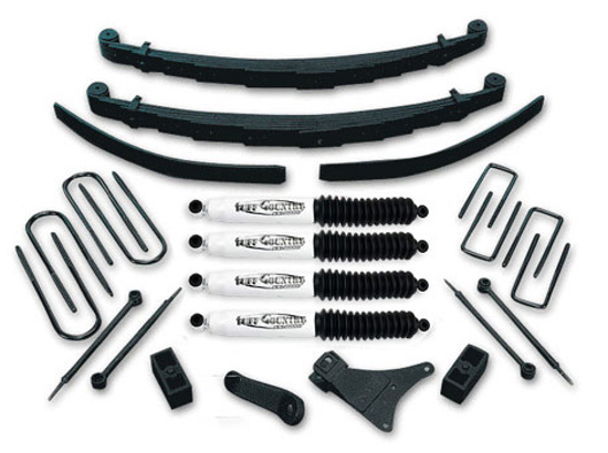 "1986-1997 Ford F350 4"" Lift Kit Tuff Country 24830K"