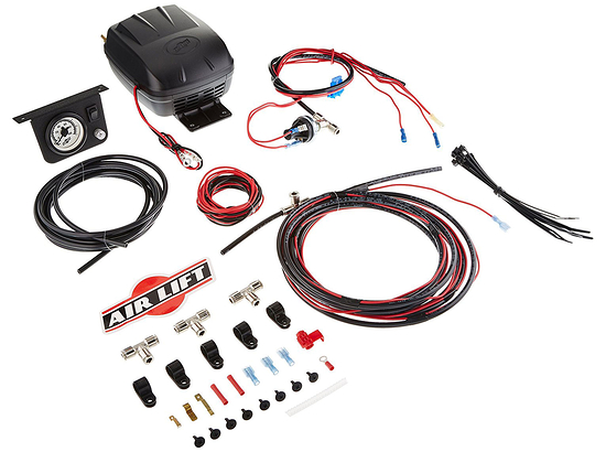 Air Lift Load Controller II Air Compressor Kit Single Gauge 25592
