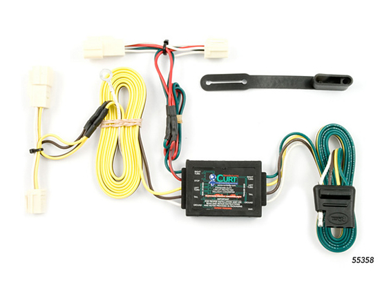 Toyota Camry Trailer Wiring Kit 1997-2001 by Curt MFG #55358