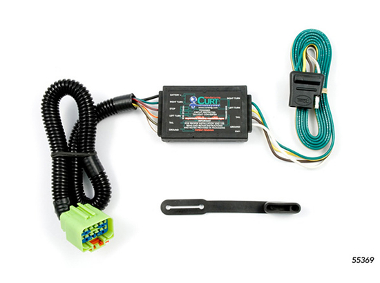 Jeep Grand Cherokee Trailer Wiring Kit 1999-2004 by Curt MFG #55369