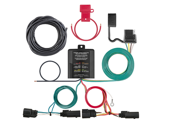ford escape 2013 2016 wiring kit harness curt mfg 56335. Black Bedroom Furniture Sets. Home Design Ideas