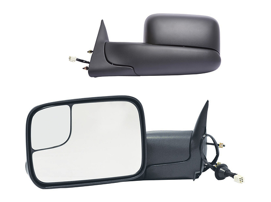 K Source Dodge Ram 2500 Extendable Towing Mirrors 1998-2002 60179-80C