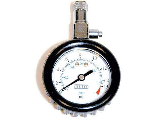 "2"" Tire Gauge (0-15 PSI) - Viair 90058"
