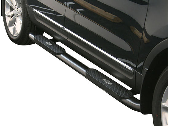 Ford F250 Oval Nerf Bars (Black) 1999-2015 by Aries #223006